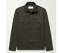 Wool-Flannel Overshirt