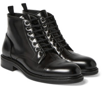 Polished-leather Boots