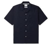 Carsten Camp-Collar Cotton-Poplin Shirt