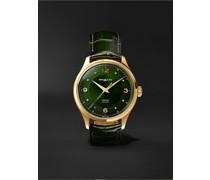 Heritage Automatic 40mm 18-Karat Gold and Alligator Watch, Ref. No. 126464