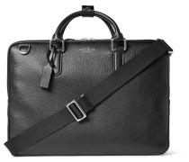 Burlington Grained-leather Briefcase