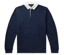 Rugger Loopback Cotton-Jersey Polo Shirt