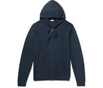 Julius Wool And Cashmere-blend Zip-up Hoodie