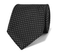 8cm Pin-Dot Silk-Jacquard Tie