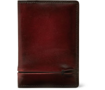 Jagua Polished-leather Bifold Cardholder
