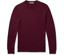 Elbow-patch Cotton And Cashmere-blend Sweater