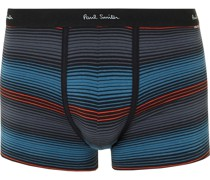 Striped Stretch-Cotton Boxer Briefs