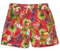 Traveler Mid-length Printed Swim Shorts