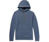 Fleece-back Cotton-jersey Hoodie