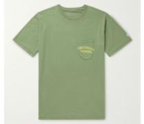 Logo-Print Organic Cotton-Jersey T-Shirt