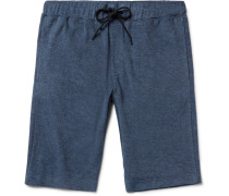 Moris Slim-fit Terry Drawstring Shorts
