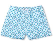 Paraty Slim-fit Short-length Printed Swim Shorts