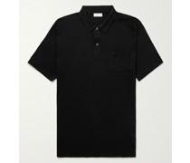 Slim-Fit Sea Island Cotton-Jersey Polo Shirt