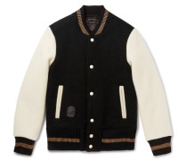 Felted Wool Varsity Jacket