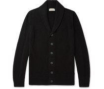 Crestwood Slim-Fit Shawl-Collar Wool and Cashmere-Blend Cardigan