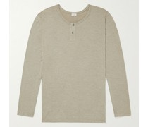 Stretch Modal-Blend Jersey Henley T-Shirt