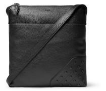 Reporter Gommini Full-grain Leather Messenger Bag