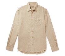 Benoit Garment-Dyed Lyocell Shirt