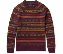 Glendorn Fair Isle Wool Sweater