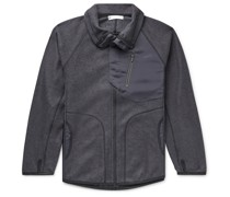 CH1 Panelled Fleece and Ripstop Jacket