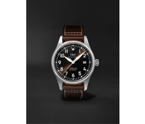 Pilot's Spitfire Automatic 39mm Stainless Steel and Leather Watch, Ref. No. IW326803