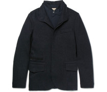 Cashmere-blend Jacket With Removable Shell Jacket