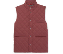 Quilted Wool-blend Gilet