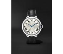 Ballon Bleu de Cartier Automatic 40mm Stainless Steel and Alligator Watch, Ref. No. WSBB0039