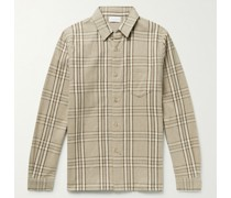 Sly Checked Cotton-Flannel Shirt