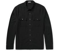 Slim-fit Cotton-gauze Shirt