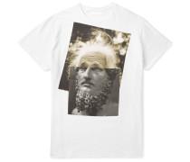 Einstein Printed Cotton-jersey T-shirt