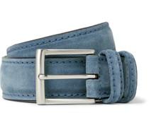 3.5cm Suede Belt