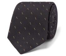 6cm Pin-dot Silk-jacquard Tie