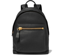 Buckley Grained-leather Backpack