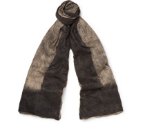 Brushed Cashmere And Silk-blend Scarf