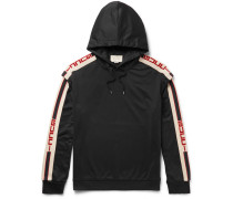 Oversized Taped Jersey Hoodie