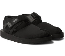 Bita-V Webbing-Trimmed Neoprene Tabi Sandals