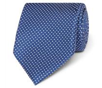 + Drake's 8cm Pin-dot Silk-jacquard Tie