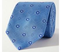 9.5cm Silk-Jacquard Tie