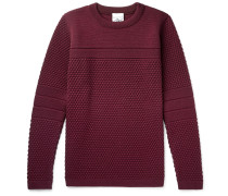 Torso Textured-knit Wool Sweater