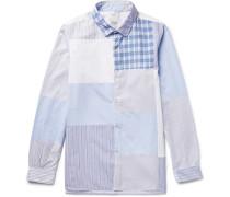 Long Rider Patchwork Cotton-poplin Shirt