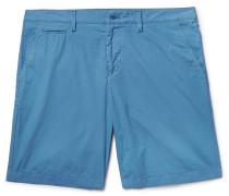 Brit Slim-fit Washed-cotton Shorts