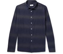 Laszlo Dégradé Striped Cotton Shirt