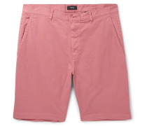 Zaine Slim-fit Stretch-cotton Shorts