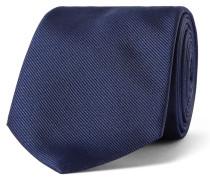 7cm Embroidered Silk-twill Tie