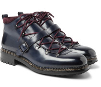 Alvis Shearling-lined Leather Boots
