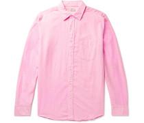 Cloud End-on-End Cotton-Blend Shirt