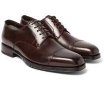 Wessex Polished-leather Derby Shoes