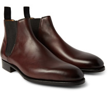 Camden Burnished-leather Chelsea Boots