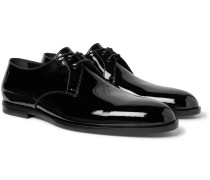 Smoking Patent-leather Derby Shoes